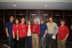 Mike Bertani with Kaufman Staff