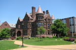 The Cupples House on the Saint Louis University campus is one of many architectural attractions for people to see.